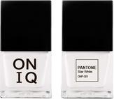 ONIQ Лак для ногтей с эффектом геля PANTONE Star White ONP-301