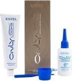 Estel Professional ONLY looks Краска для бровей и ресниц коричневая