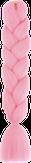 HIVISION Канекалон для афрокосичек розовый А16