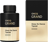 ONIQ Grand Финишное глянцевое покрытие для гель-лака без липкого слоя Glossy No Cleans, 30 мл. OGPL-911