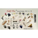 Lucky Rose Слайдер-дизайн Foil Colour gold-19