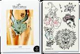 "Miami Tattoos Переводные флэш-тату ""Art by Nora Ink"""