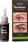 BrowXenna Хна для бровей, цвет № 107 темная земля (флакон)
