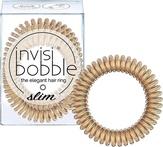 Invisibobble SLIM Bronze Me Pretty Резинка-браслет для волос (с подвесом)
