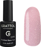 Grattol Base Glitter База-камуфляж с шиммером №8
