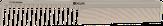Dewal Sahara Расческа для стрижки комбинированная, бежевая, 17,5 см. CO-904