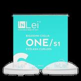 InLei Набор силиконовых бигудей для завивки натуральных ресниц S1 6 пар