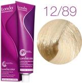 Londa Color Стойкая крем-краска 12/89 специальный блонд жемчужный сандрэ, 60 мл,