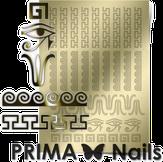 Prima Nails Металлизированные наклейки OR-003, Золото