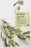Mizon Joyful Time Essence Mask Olive Тканевая маска для лица с экстрактом оливы 25 мл
