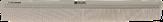 Dewal Sahara Расческа для стрижки комбинированная, бежевая, 21,5 см. CO-902