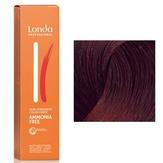 Londa Ammonia Free Интенсивное тонирование 5/56 светлый шатен красно-фиолетовый, 60 мл.
