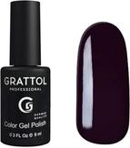 Grattol Гель-лак №098 Dark Eggplant