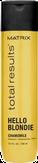 Matrix Hello Blondie Шампунь для сияния светлых волос 300 мл.