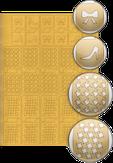 El Corazon Трафареты для дизайна ногтей № 13