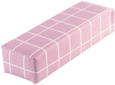 Irisk Валик настольный Клетка розовый