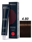 Indola Red&Fashion 4.80 Крем-краска Средний коричневый шоколадный натуральный 60мл
