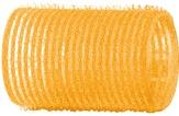 Dewal Бигуди-липучки, желтые 32 мм. 12 шт. R-VTR5