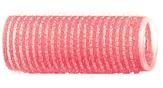 Dewal Бигуди-липучки, розовые 24 мм. 12 шт. R-VTR7