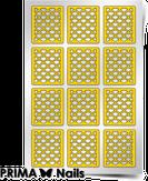 """Prima Nails Трафарет для дизайна ногтей, """"Русалка"""" (Средний)"""