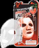 Elizavecca Deep Power Ringer Mask Pack Red Ginseng Тканевая маска для лица красный женьшень