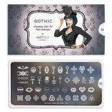MoYou London Пластина для стемпинга Gothic 02