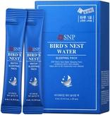 SNP Bird's Nest Water Sleeping Pack Омолаживающая ночная маска на основе ласточкиного гнезда