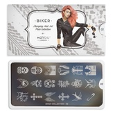 MoYou London Пластина для стемпинга Biker 02