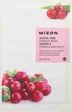 Mizon  Joyful Time Essence Mask Acerola Тканевая маска для лица с экстрактом барбадосской вишни 25 мл