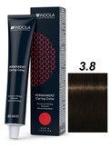 Indola Red&Fashion 3.8 Крем-краска Темный коричневый шоколадный 60мл