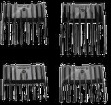 Harizma Комплект универсальных насадок (3, 6, 9, 12мм)