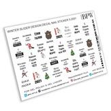 BPW Style Слайдер-дизайн Надписи на Новый Год 2020, sd5-2051