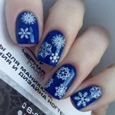 BPW Style Слайдер-дизайн Белые снежинки