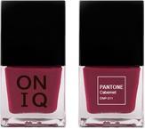 ONIQ Лак для ногтей с эффектом геля PANTONE Cabernet ONP-311