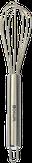 Dewal Венчик для смешивания краски, цвет серебристый SC-002C