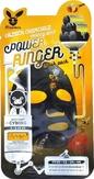 Elizavecca Deep Power Ringer Mask Pack Black Charcoal Тканевая маска для лица с древесным углем