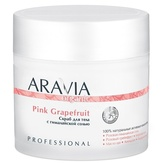 Aravia Organic Скраб для тела с гималайской солью Pink Grapefruit, 300 мл. 7032
