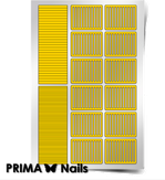 """Prima Nails Трафарет для дизайна ногтей, """"Полоски"""""""