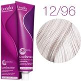 Londa Color Стойкая крем-краска 12/96 специальный блонд сандрэ фиолетовый, 60 мл,