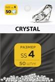 MILV Стразы Crystal 4 50 шт.
