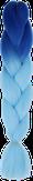 HIVISION Канекалон для афрокосичек синий/голубой # 39