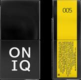 ONIQ Гель-лак для ногтей PANTONE 005, цвет Buttercup OGP-005