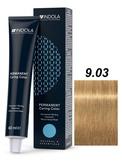 Indola Natural&Essentials 9.03 Крем-краска Блондин натуральный золотистый 60мл