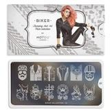 MoYou London Пластина для стемпинга Biker 01