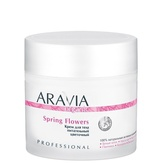 Aravia Organic Крем для тела питательный цветочный Spring Flowers 300 мл.