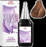 Wella Color Fresh Оттеночная краска 7/74 блонд коричнево-красный 75 мл.