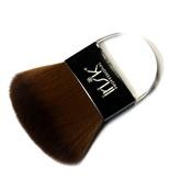 Irisk Кисть макияжная с плоской ручкой нат. шелк Clear