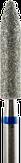 Владмива Фреза алмазная цилиндр, D3,3 мм. синяя, средняя зернистость 806.274.524.033