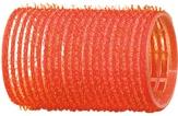 Dewal Бигуди-липучки, красные 36 мм. 12 шт. R-VTR4