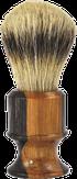Metzger Кисточка для бритья SB-11258 (Olive/Black wood)